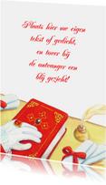 Sinterklaas nostalgisch boek