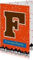 Sinterklaaskaart choco F