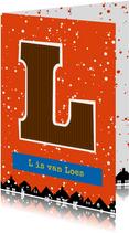 Sinterklaaskaart choco L