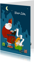 Sinterklaaskaart - IR