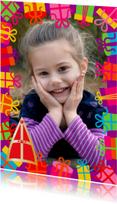 Sinterklaaskaart met foto