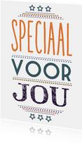 Speciaal voor jou typografisch