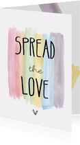 Spread the love, kleurtjes