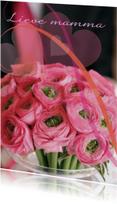 Moederdag kaarten - Staande moederdagkaart eigen tekst