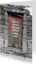 Sterkte houten deur