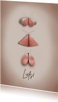 Stijlvol vlinder kaartje voor elke gelegenheid