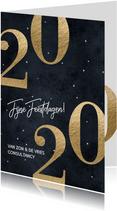 Stijlvolle zakelijke kerstkaart 2020