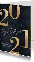 Stijlvolle zakelijke kerstkaart 2021
