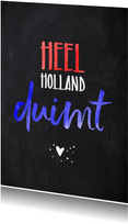 Succes Heel Holland duimt
