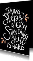 Succes kaarten - Succes - Taking steps EM