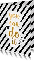 Succes yo can do it