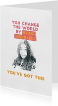 Succes kaarten - Succeskaart  - You've Got This Yoko Ono