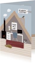 Thuiswerkkaart zolderkamer
