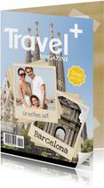 Tijdschrift kaart Vakantie 1LS3