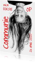 Communiekaarten - Uitnodiging communiefeest foto