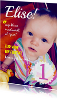 Uitnodiging Cover Elise