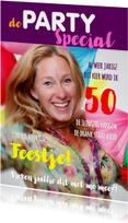 Uitnodigingen - Uitnodiging Cover Magazine Party 2 - OT