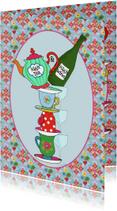 Uitnodiging High Tea & Wine