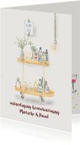 Uitnodiging Housewarming Cheers