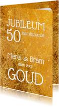 Uitnodiging jubileum goud - OT