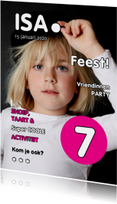 Uitnodiging Magazine Cover 1 - OT