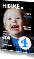 Uitnodiging Magazine Cover 3