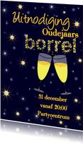 Uitnodiging oude of nieuwjaarsborrel