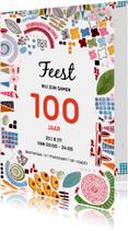 Uitnodiging samen 100 jaar feest