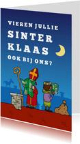 Uitnodiging Sinterklaas Kaartlezen