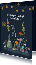 Uitnodiging tuinfeest Flowers & Drinks