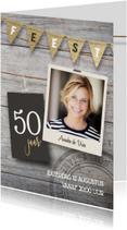 Uitnodiging verjaardag 50