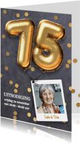 Uitnodiging verjaardag 75 jaar
