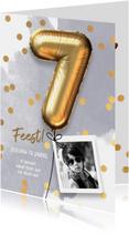 Uitnodiging verjaardag jongen 7 jaar