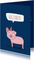 Uitnodigingen - Uitnodiging voor een Big Big Party!