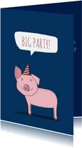 Uitnodiging voor een Big Big Party!