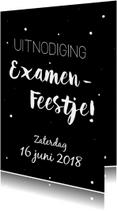 Uitnodiging voor een Examenfeestje