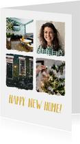 Umzug zu Weihnachten und Neujahr