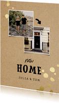Umzugskarte New Home