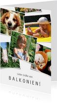 Urlaubskarte Grüße aus Balkonien