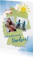 Urlaubskarte Urlaub in Deutschland Fotos