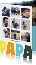 Vaderdagkaart 9 foto's
