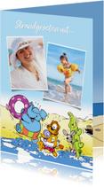 Vakantie Loeki & friends op het strand - A