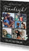 Vakantiekaart fotocollage groetjes uit met 6 eigen foto