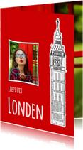Vakantiekaart liefs uit Londen - SG
