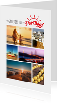 Vakantiekaart Portugal eigen foto