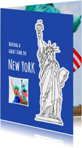 Vakantiekaart USA - New York - SG