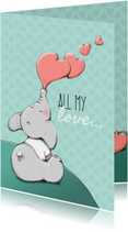 Valentijn all my love - IH