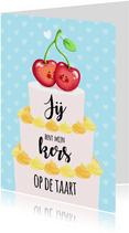 Valentijn kers op de taart
