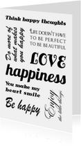 Valentijnskaart happy tekst