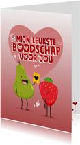 Valentijnskaart Jumbo Supermarkten